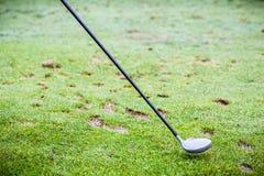 高尔夫球司机俱乐部 免版税图库摄影