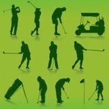 高尔夫球向量 免版税库存照片