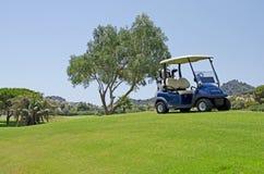 高尔夫球在西班牙 免版税库存照片