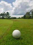 高尔夫球场在万象,老挝 免版税库存图片