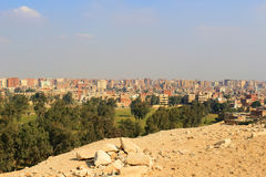高尔夫球场在开罗埃及 免版税库存照片