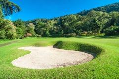 高尔夫球场在巴厘岛 免版税库存图片