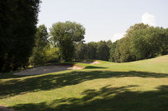 高尔夫球场竞争 免版税库存照片