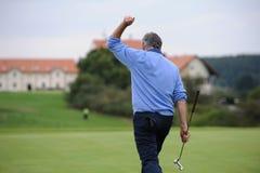 高尔夫球场-捷克 图库摄影