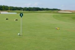 高尔夫球场 库存照片