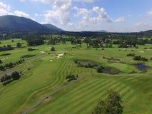 高尔夫球场 库存图片