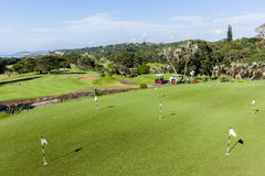 高尔夫球场Southbroom 免版税库存图片