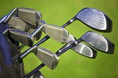 高尔夫球大袋 免版税库存图片