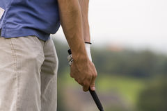 高尔夫球夹子 库存照片