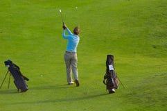 高尔夫球妇女 库存图片