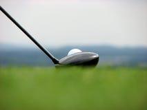 高尔夫球必须发现 库存照片