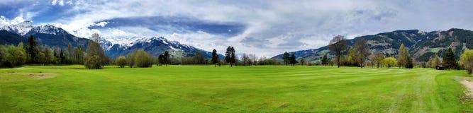 高尔夫球手段 库存照片