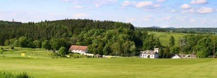 高尔夫球手段Tvorsovice 免版税库存照片