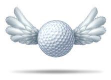 高尔夫球打高尔夫球的符号 库存例证