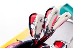 高尔夫球提示 免版税库存照片