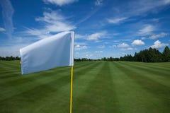 高尔夫球旗子激活休闲 免版税库存图片