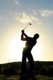 高尔夫球早晨 库存照片