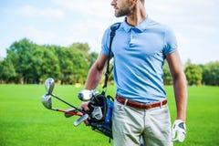 高尔夫球是生活风格 库存图片