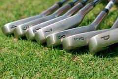 高尔夫球棍子 库存照片