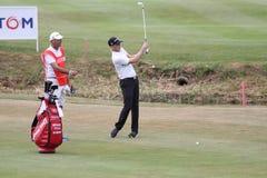 高尔夫球法国公开赛的布伦丹Steele 2015年 免版税库存照片