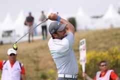 高尔夫球法国公开赛的弗朗切斯科Molinari 2015年 免版税库存图片
