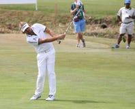 高尔夫球法国公开赛的胜者Dubuisson 2015年 图库摄影