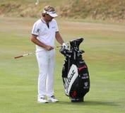 高尔夫球法国公开赛的胜者Dubuisson 2015年 免版税库存照片