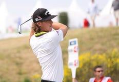 高尔夫球法国公开赛的Kristoffer布罗贝里2015年 库存图片