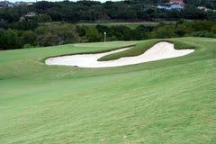 高尔夫球漏洞 免版税库存照片