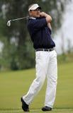 高尔夫球球击 免版税库存照片