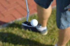 高尔夫球球 库存图片