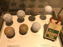 高尔夫球的演变 免版税库存照片