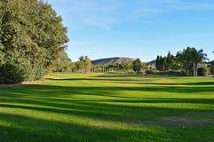 高尔夫球航路 库存照片