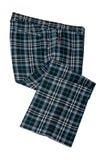 高尔夫球苏格兰气喘人的长裤 免版税库存照片