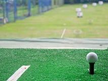 高尔夫球草皮 图库摄影