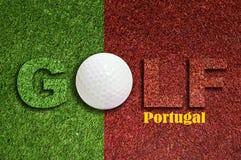 高尔夫球葡萄牙 免版税图库摄影