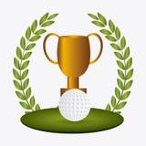 高尔夫球设计,传染媒介例证 皇族释放例证
