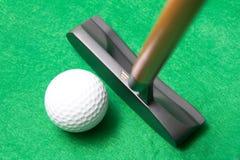 高尔夫球轻击棒 免版税图库摄影