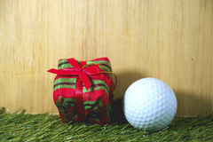 高尔夫球运动员的礼物 免版税图库摄影