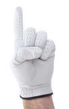 高尔夫球运动员第一 库存照片