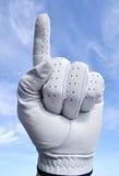 高尔夫球运动员第一 免版税图库摄影