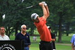 高尔夫球运动员贾斯汀・罗斯 免版税库存图片