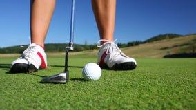 高尔夫球运动员 股票录像