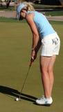 高尔夫球运动员Jill赞成lpga mcgill 库存照片