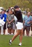 高尔夫球运动员karin lpga sjodin妇女的 图库摄影