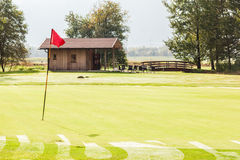 高尔夫球酒吧 免版税图库摄影