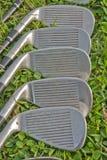 高尔夫球铁 免版税库存照片