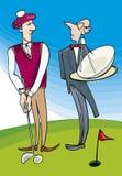 高尔夫球阁下使用 免版税库存图片