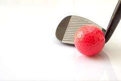 高尔夫球项目 库存图片