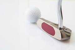 高尔夫球项目 免版税库存图片